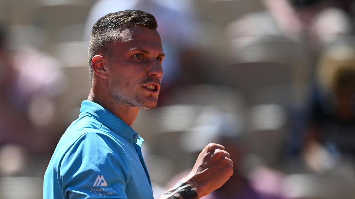 Fucsovics Márton a Roland Garros 1. fordulójában