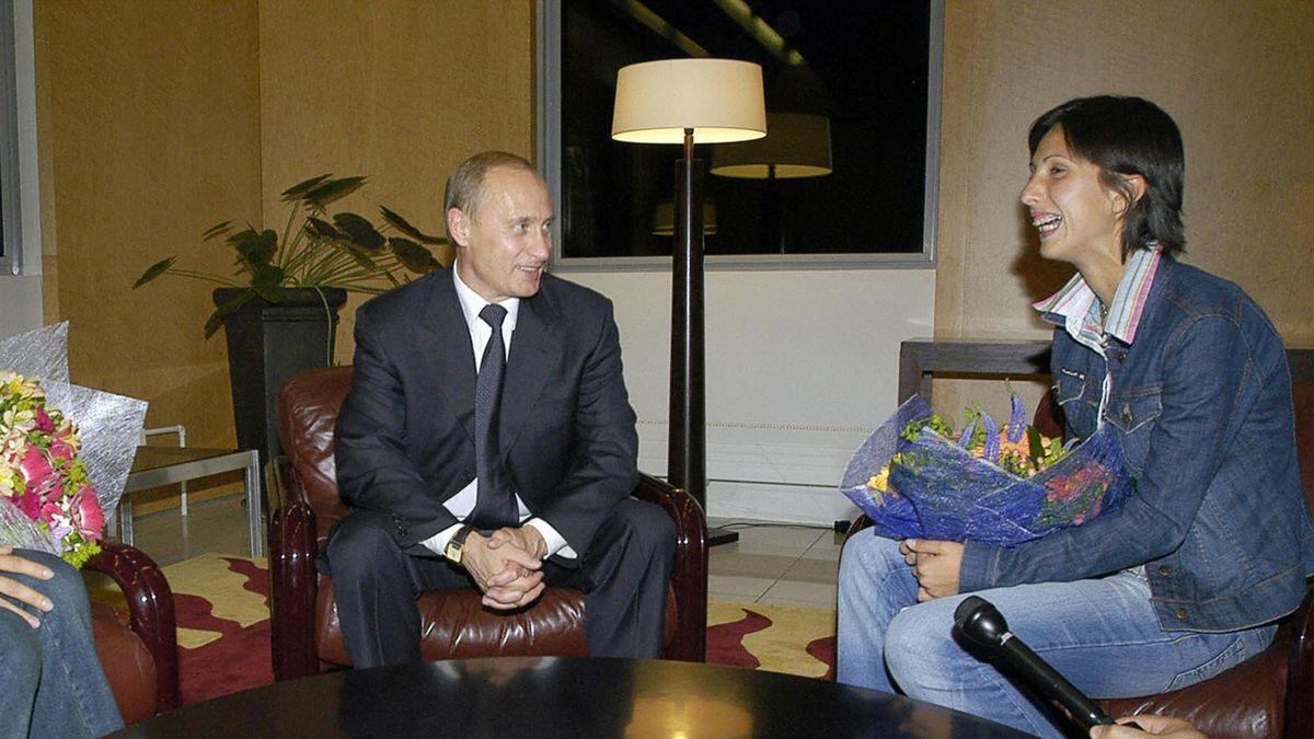 Дементьева, Путин, Мыскина
