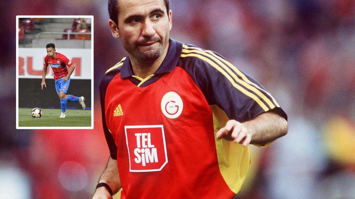 Gheorghe Hagi - Olimpiu Moruțan Galatasaray