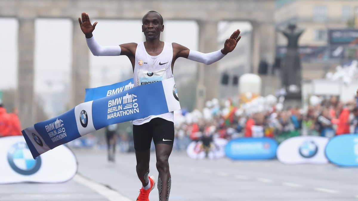Weltrekord verpasst: Eliud Kipchoge gewinnt Berlin-Marathon