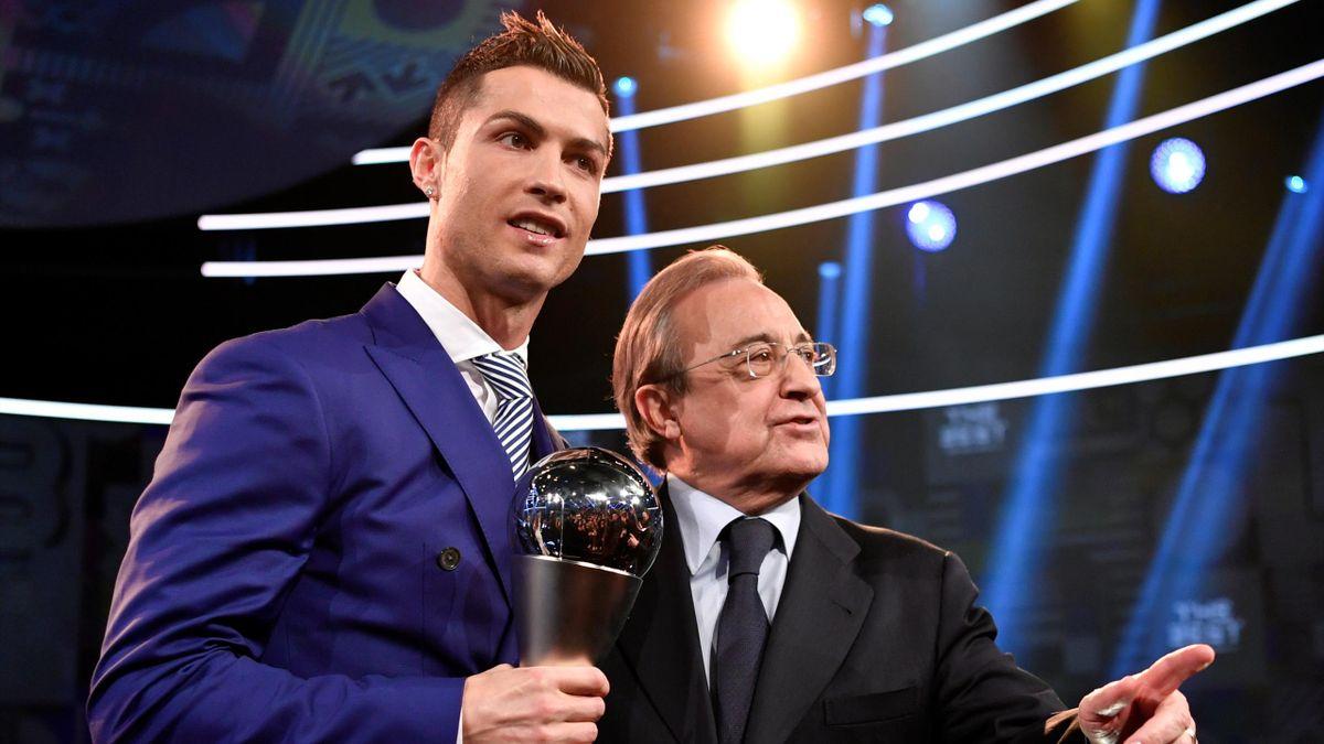 Криштиану Роналду, Флорентино Перес, «Реал Мадрид»