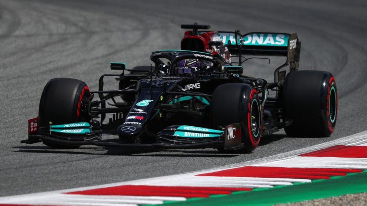 Lewis Hamilton (Mercedes) au Grand Prix de Styrie 2021