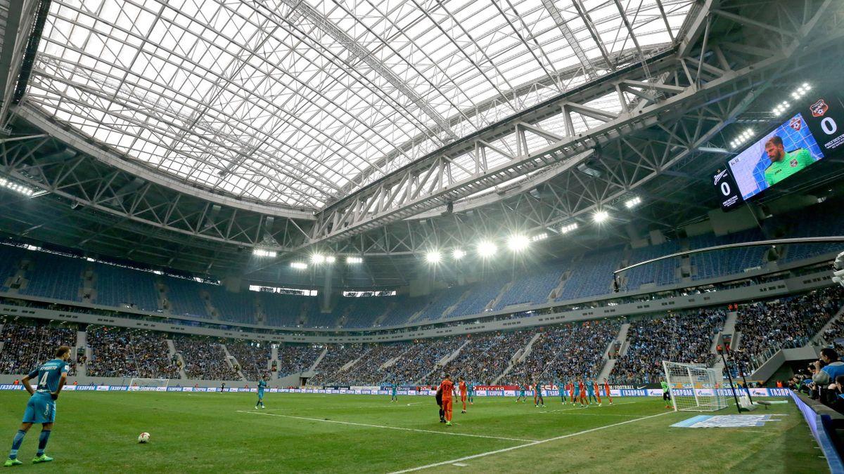 Saint-Pétersbourg accueillera l'Euro.