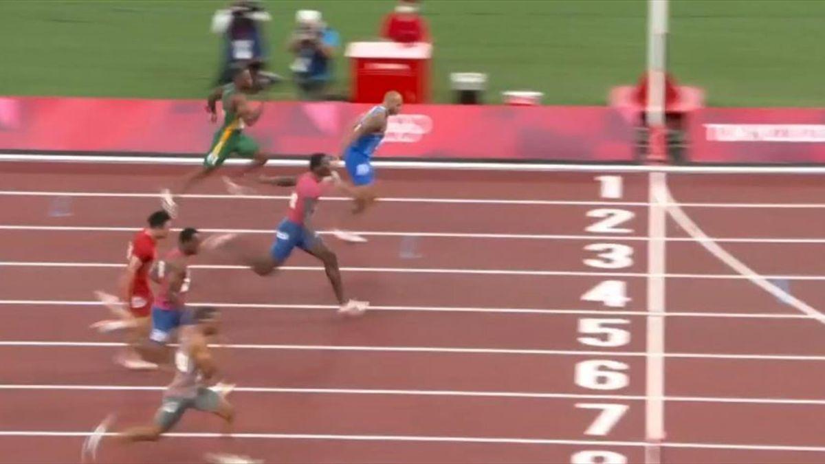 Se 100-meter finalen her