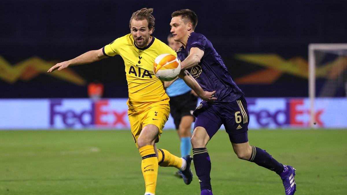 Harry Kane (l.) von Tottenham Hotspur