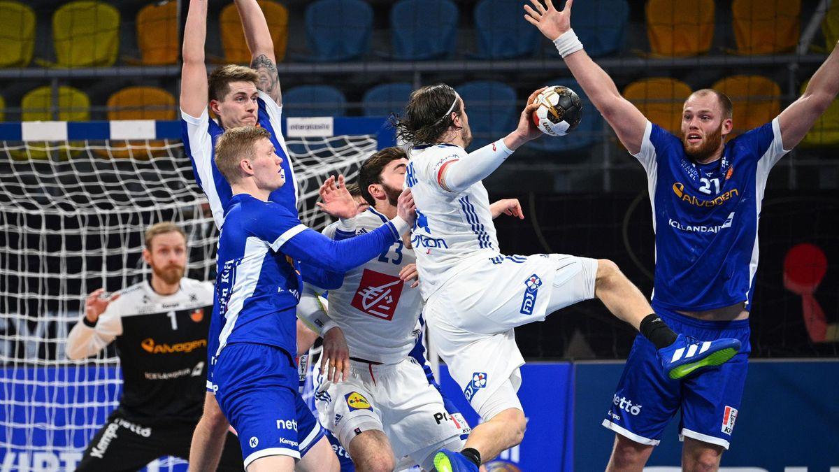 Frankreich gewinnt gegen Island
