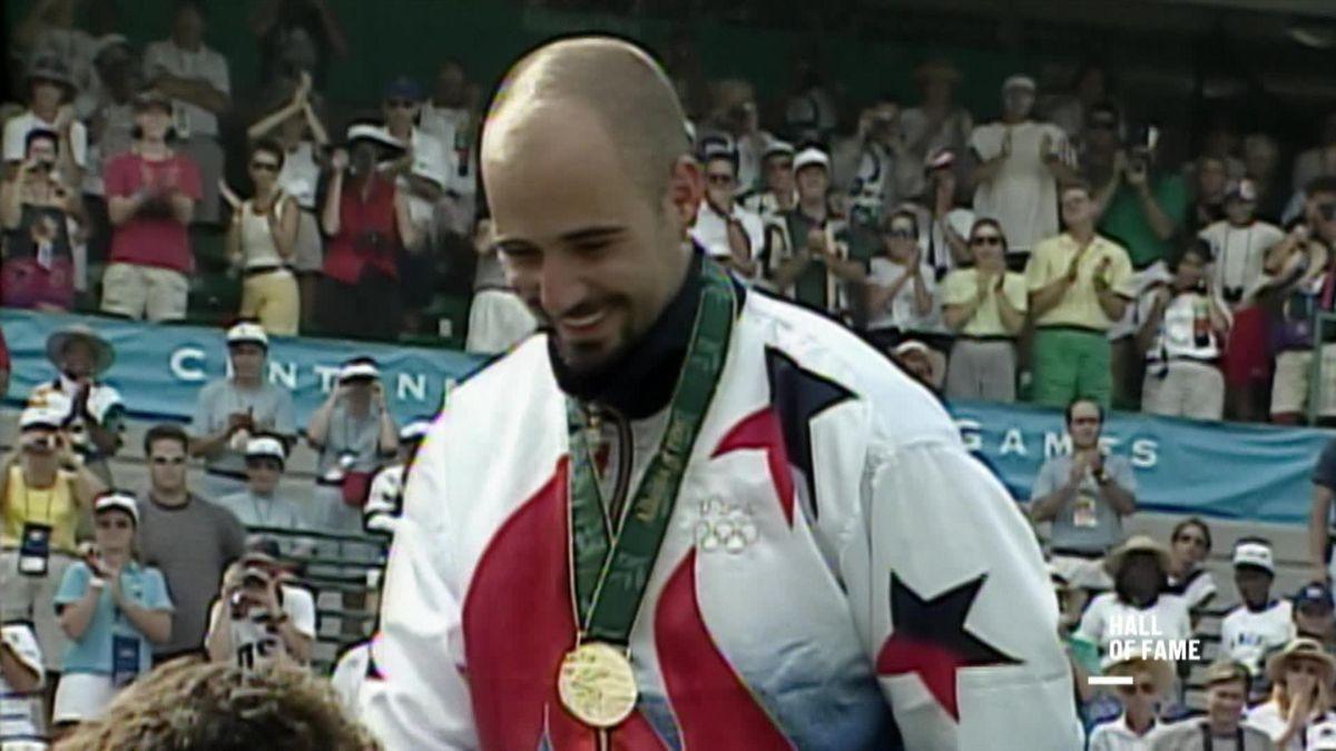 Andre Agassi a câștigat aurul olimpic la Atlanta, în 1996