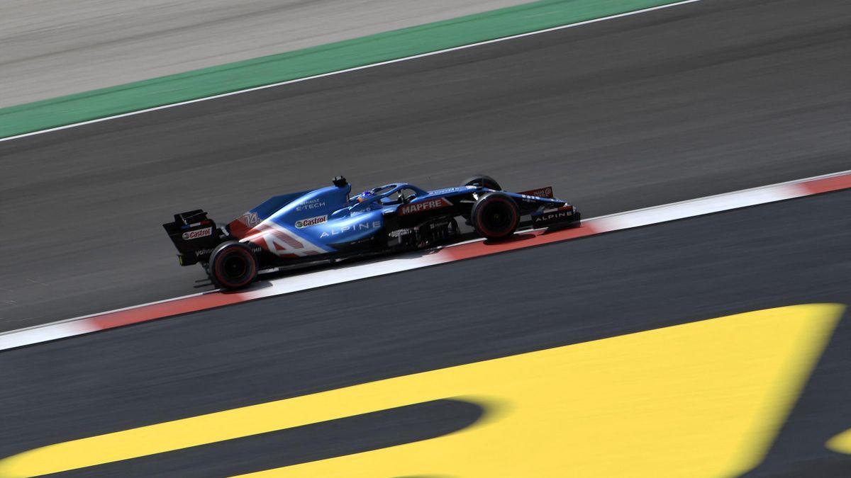 Fernando Alonso (GP Portugal 2021). Mundial de Fórmula 1