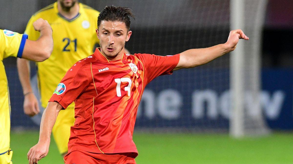 Stefan Ristovski will mit Nordmazedonien zur EURO 2020