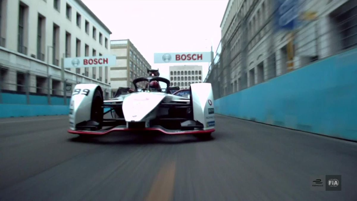 Vandoorne wins second Rome Formula E race, Bird stays top