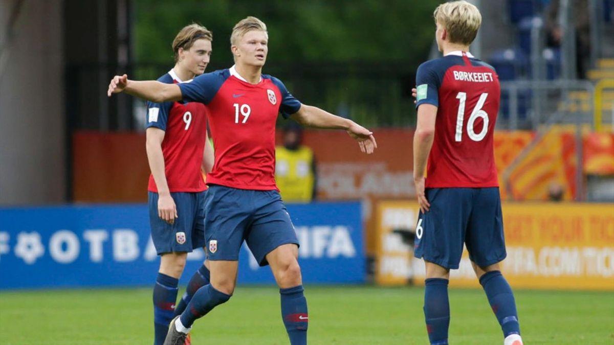 Norvegia - Haaland segna 9 gol in un Mondiale Under 20