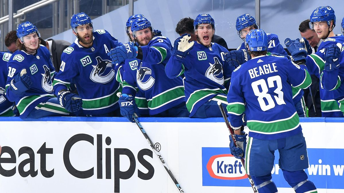 Les Canucks de Vancouver, victorieux face aux Saint-Louis Blues - 21/08/2020
