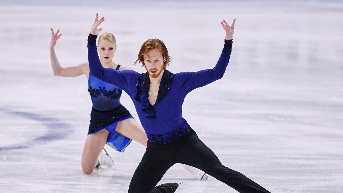Тарасова и Морозов – начало пути Тутберидзе в парном катании. Она будет  усложнять фигуристам прыжки - Eurosport