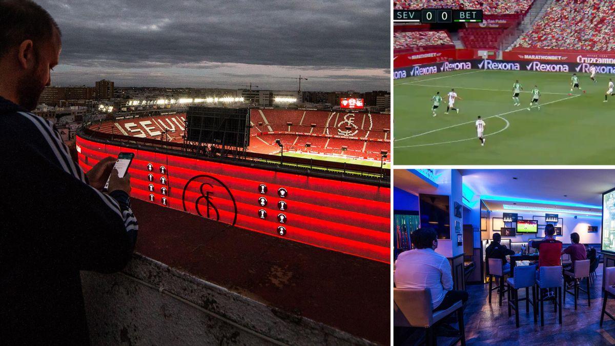La Liga returned on Thursday when Sevilla beat Real Betis 2-0