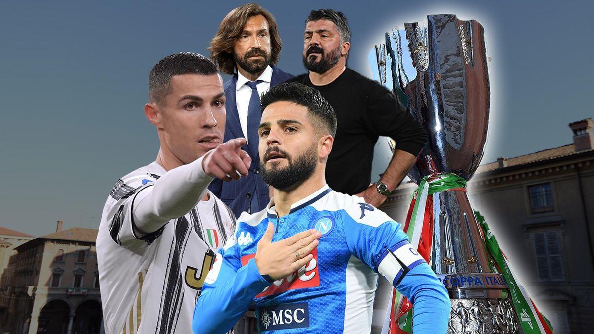 Andrea Pirlo, Rino Gattuso, Cristiano Ronaldo, Lorenzo Insigne: chi vince il primo trofeo del 2021?