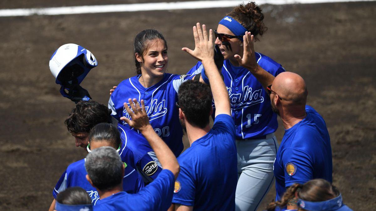 L'Italia del softball si qualifica per le Olimpiadi di Tokyo 2020