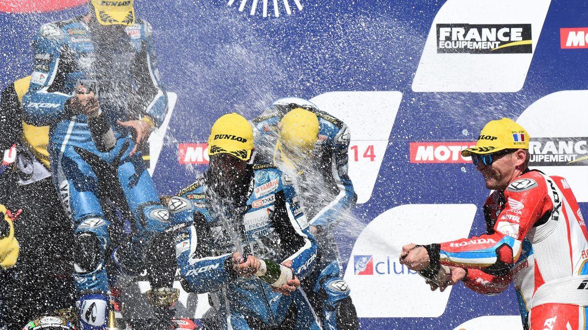 Yamaha règne sur le Bol d'Or.