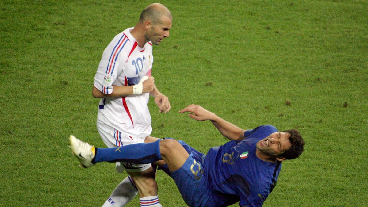 World Cup 2006 Materazzi Zidane Italy-France