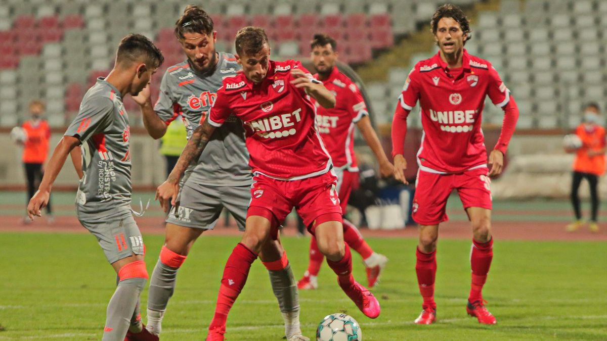 Dinamo - UTA Arad, în Liga 1 (mediafax.ro)