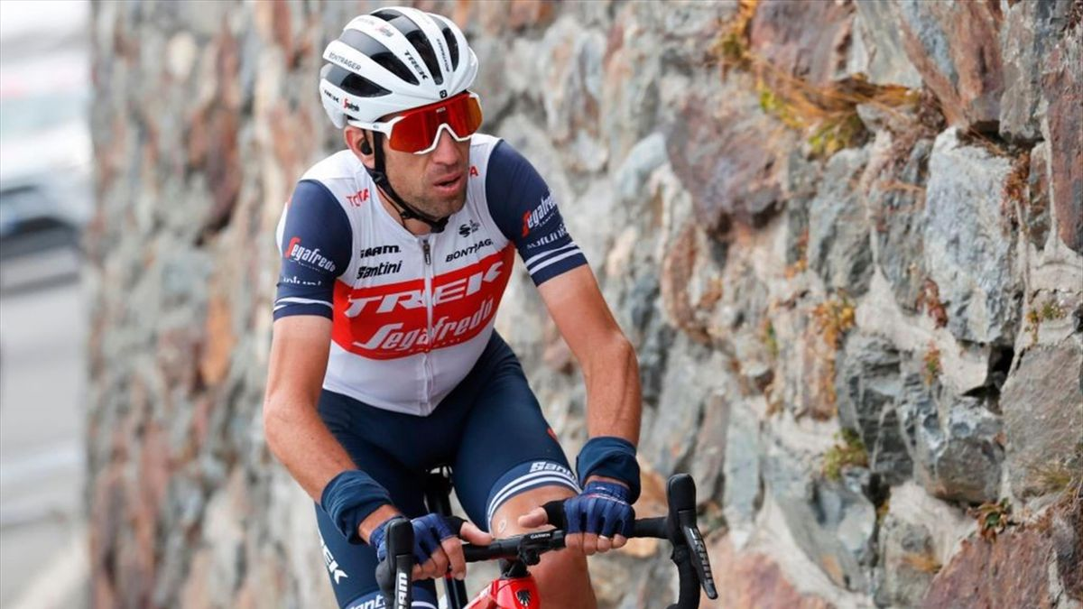 Vincenzo Nibali al Giro d'Italia 2020 - Getty Images