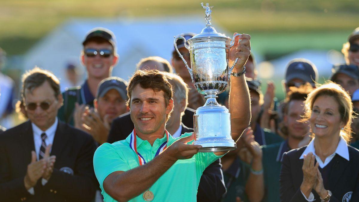 Brooks Koepka, vainqueur de l'US Open 2017