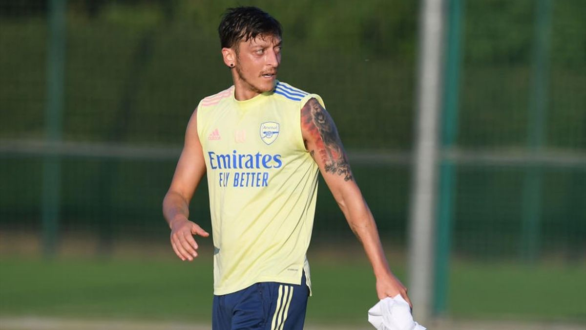 Mesut Ozil has not featured for Arsenal this season