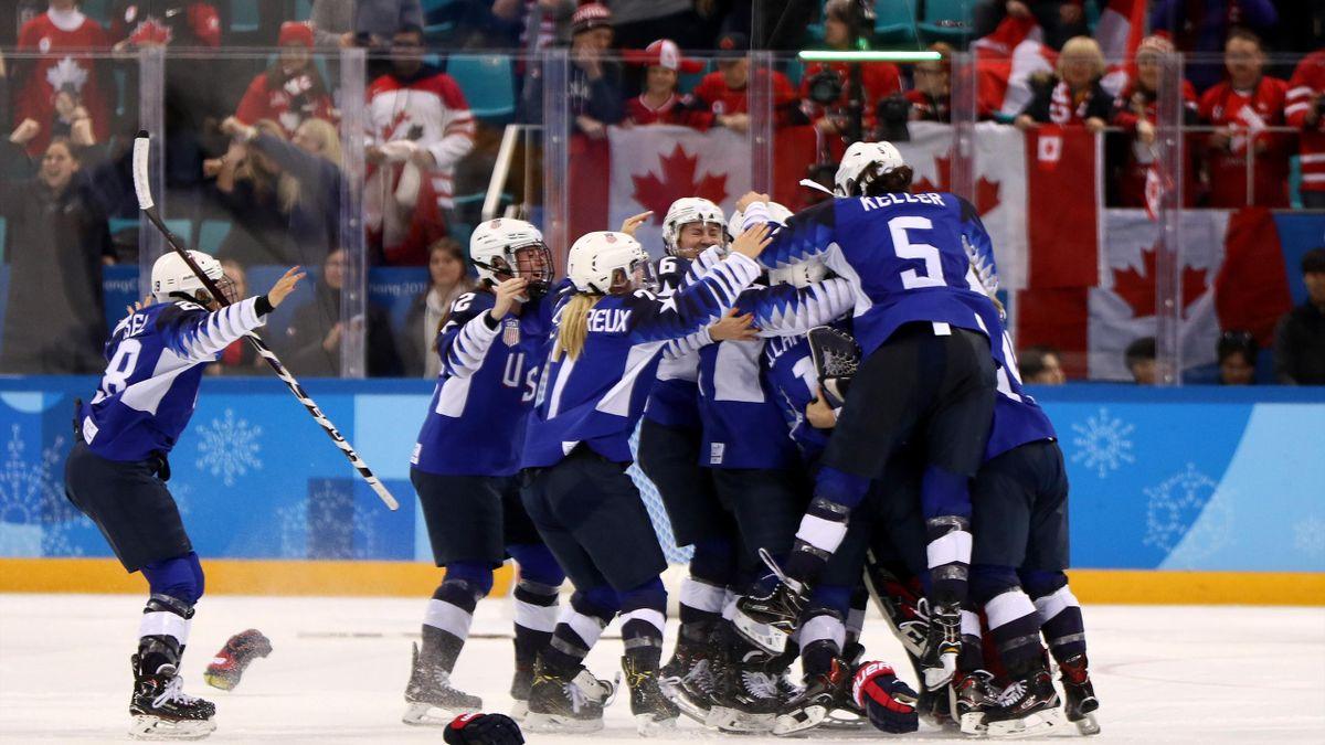 USA women ice hockey