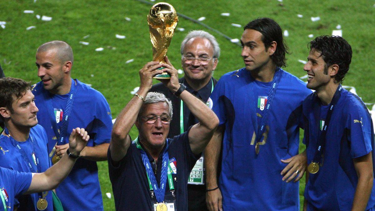 Marcello Lippi - Mondiali 2006 - Getty Images