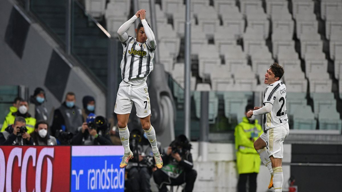 Juventus-Roma, Cristiano Ronaldo, Serie A 2020/21. Getty Images