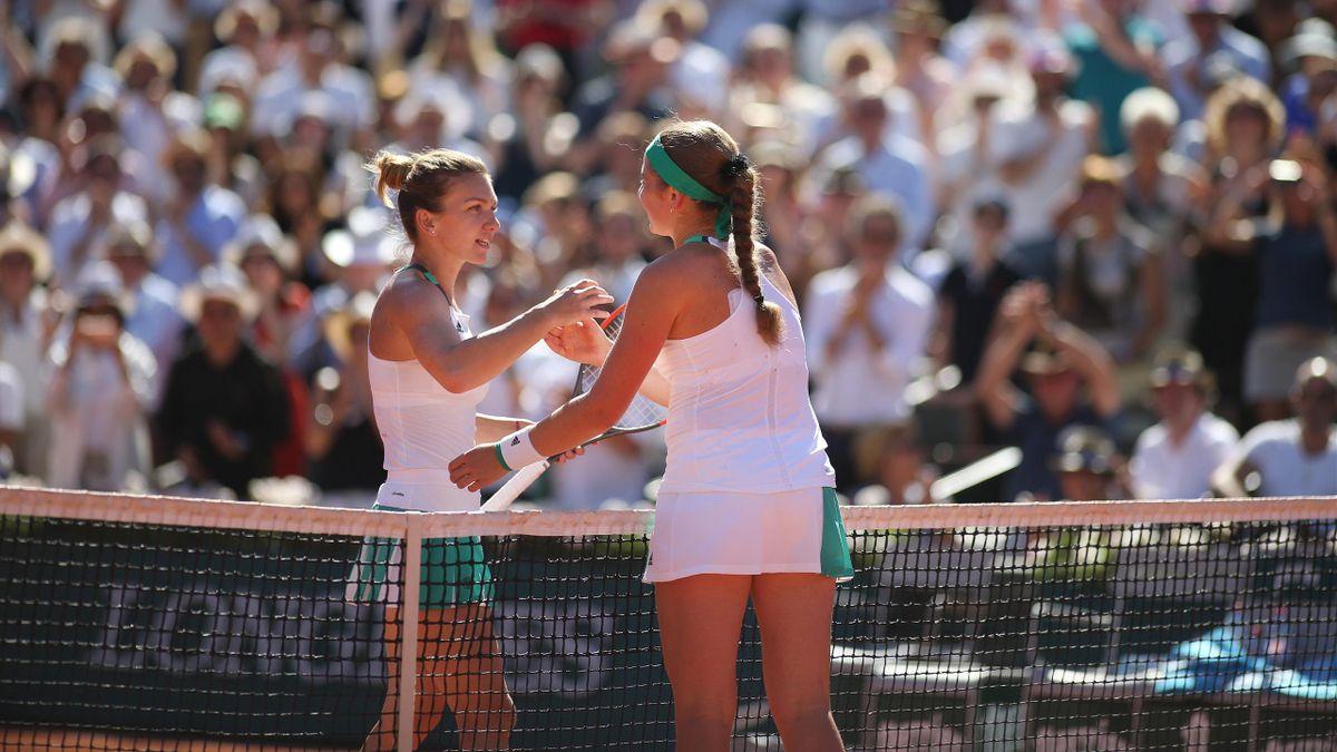 Jelena Ostapenko Simona Halep | Tennis French Open 2017 | ESP Player Feature