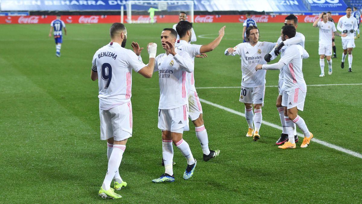 Real Madrid siegt bei Alaves