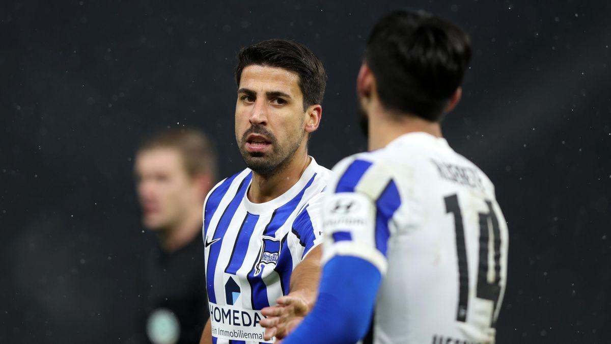 Sami Khedira und Hertha BSC laufen derzeit den eigenen Ansprüchen hinterher