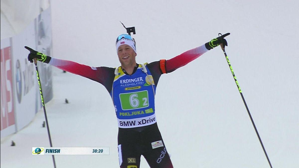 Biathlon : single relay highlights in Pokljuka