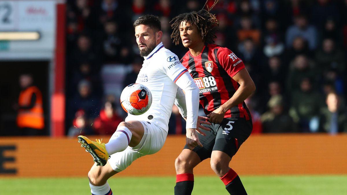 Olivier Giroud, Chelsea v Bournemouth