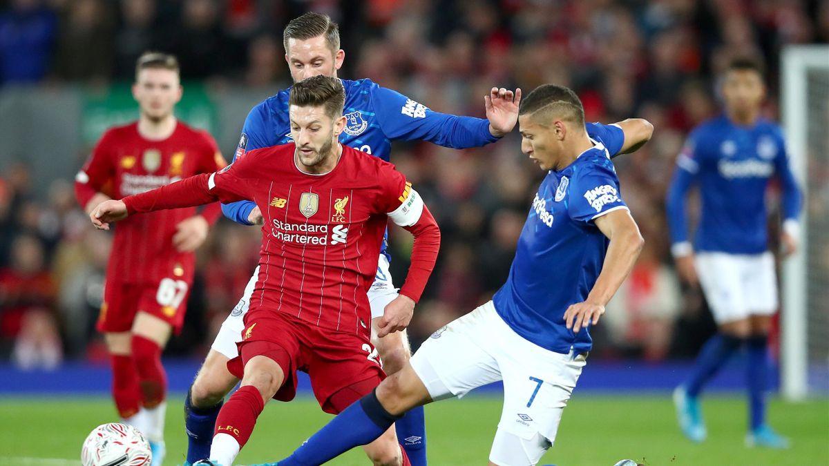 Adam Lallana (FC Liverpool) - Richarlison (FC Everton)
