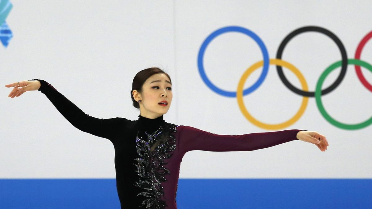 South Korea's Kim Yuna competes during the figure skating women's free skating program at the 2014 Sochi Winter Olympics, February 20, 2014 (Reuters)