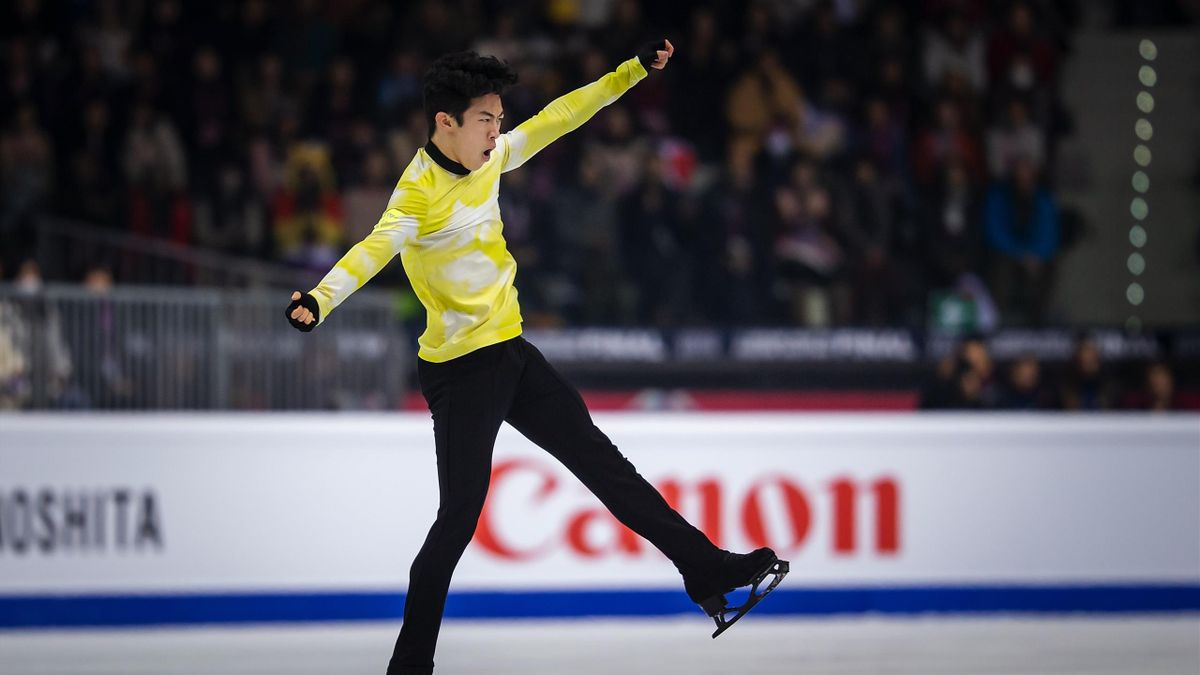 Nathan Chen of the United States competes in the Men's Free Skating during the ISU Grand Prix of Figure Skating Final (Senior & Junior) at Palavela Arena on December 07, 2019 in Turin, Italy.