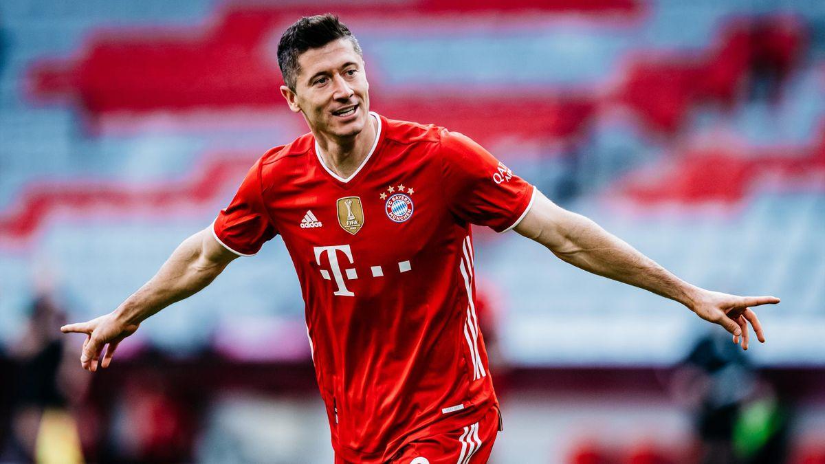 Bayern-Torjäger Robert Lewandowski steht vor dem Gewinn des Goldenen Schuhs