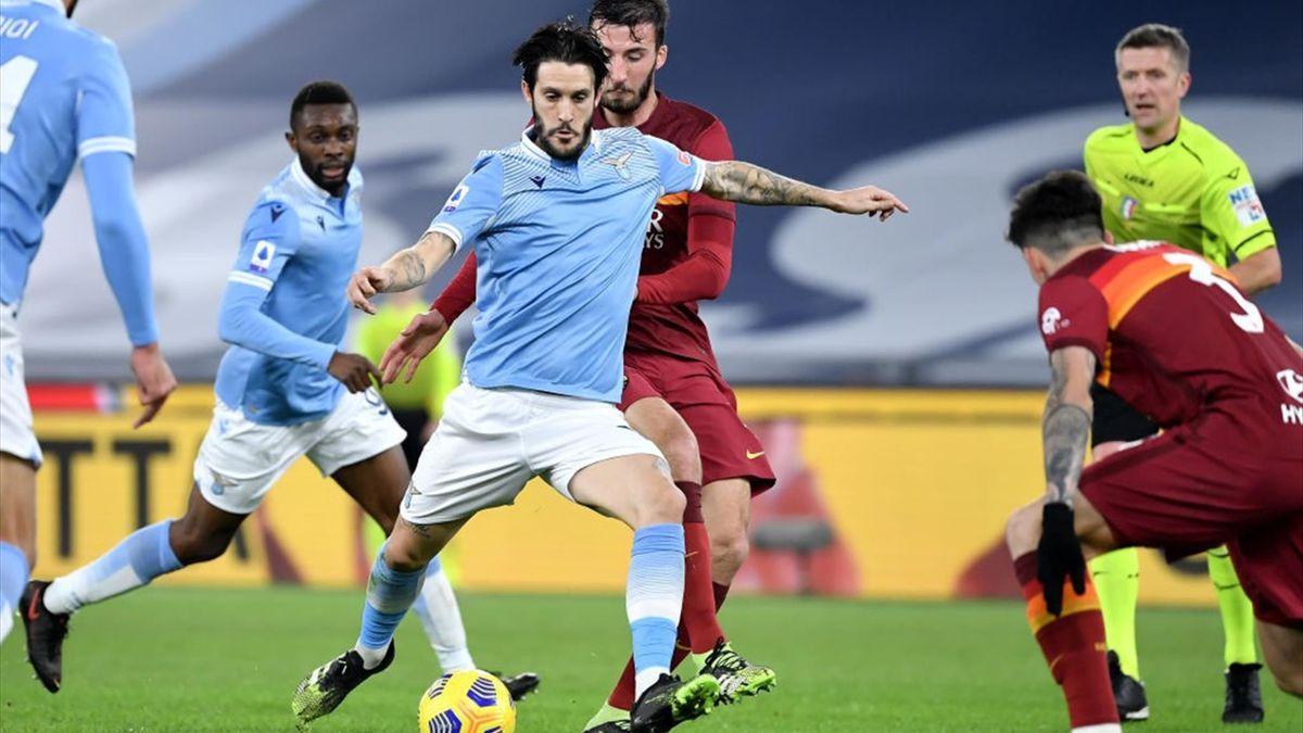 Luis Alberto - Lazio-Roma - Serie A 2020/2021 - Getty Images