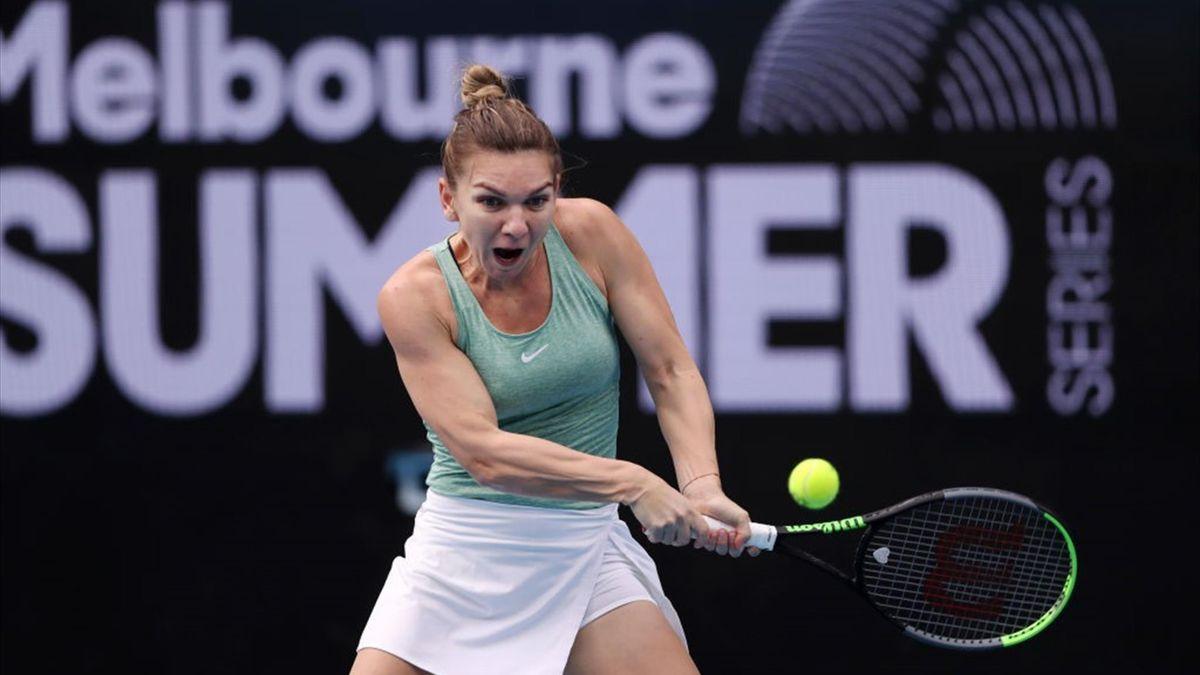 Simona Halep | Melbourne Summer Series