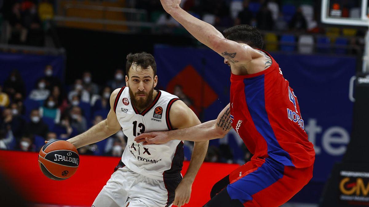 Sergio Rodriguez, AX Armani Exchange Milano-CSKA Mosca, Euroleague 2020-21