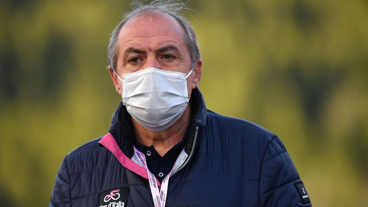 Mauro Vegni al Giro d'Italia 2020