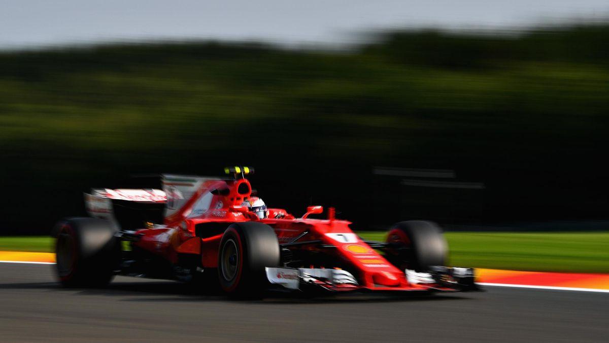 Kimi Räikkönen (Ferrari) - Grand Prix of Belgium 2017