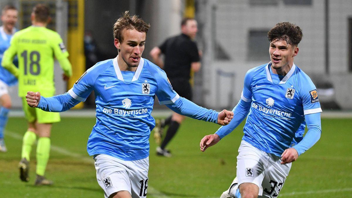 Der TSV 1860 München erkämpft sich einen Punkt gegen Wehen Wiesbaden