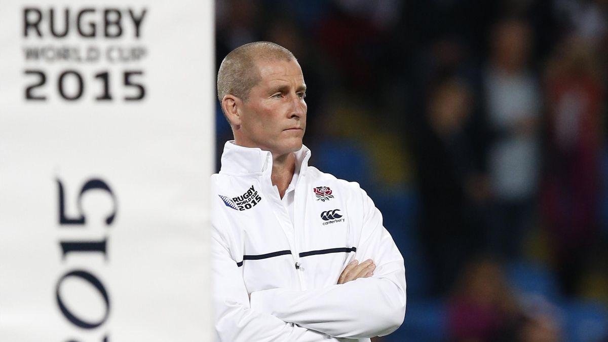 England head coach Stuart Lancaster before the game