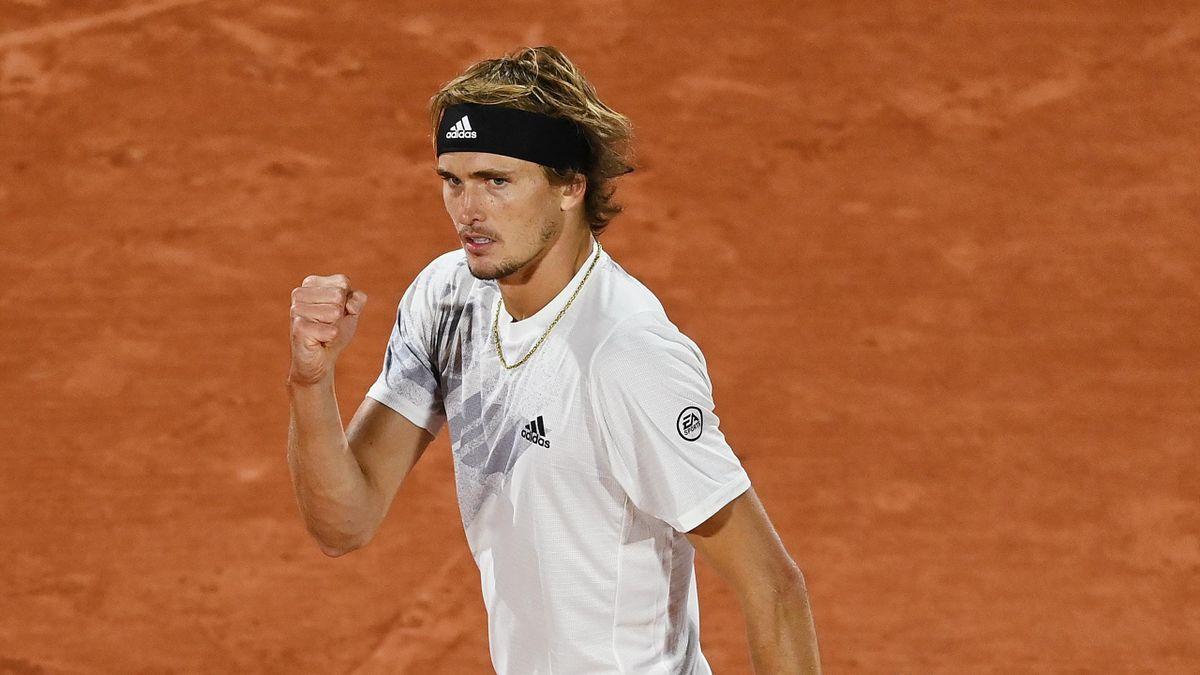 Alexander Zverev in Roland-Garros 2020