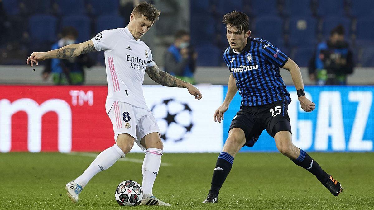 Atalanta Bergamo gegen Real Madrid