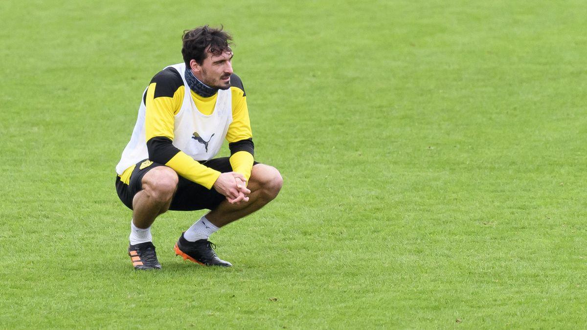 Mats Hummels im Training des BVB