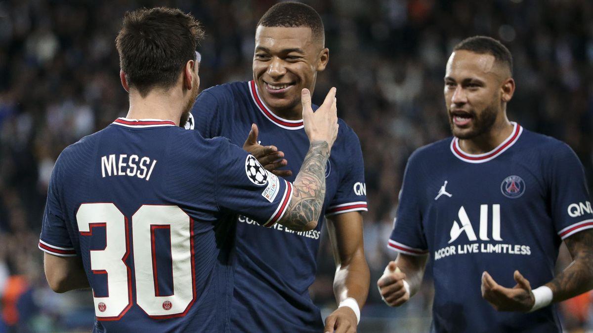 Lionel Messi, Kylian Mbappé és Neymar