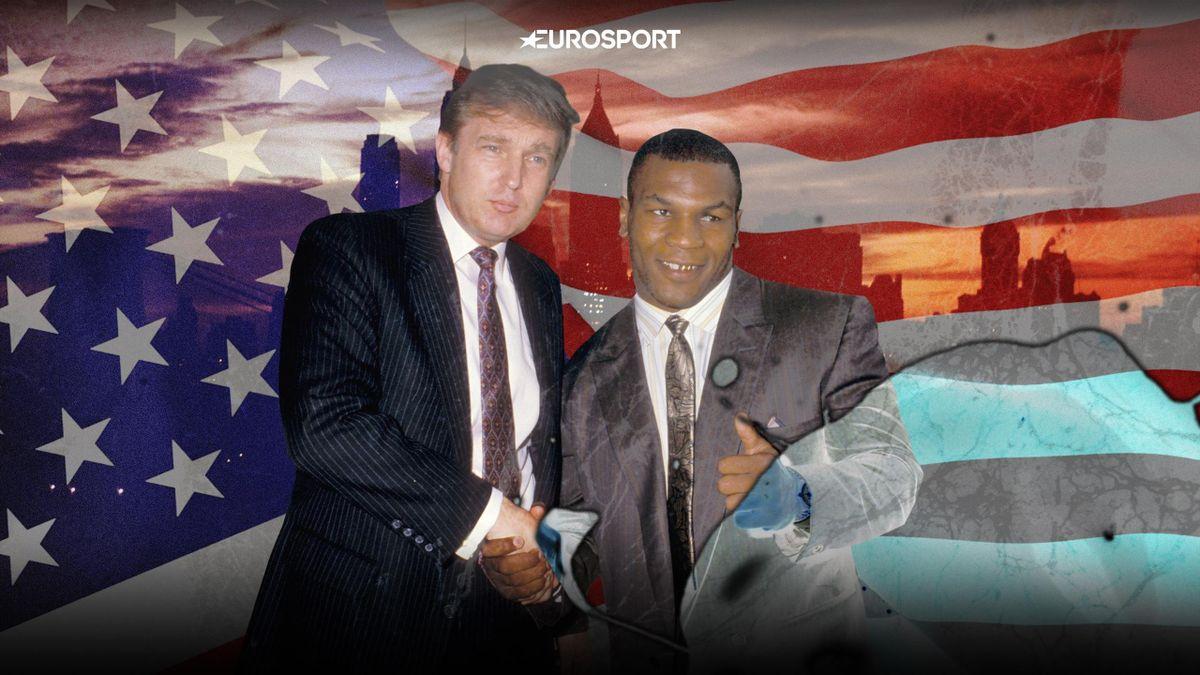 Дональд Трамп и Майк Тайсон